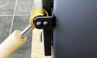 エイトノットストーブ 半ドア機能 写真 横面