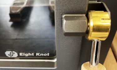 エイトノットストーブ 半ドア機能 写真 正面