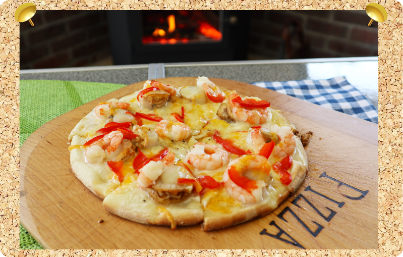 薪ストーブ ピザ 作り方