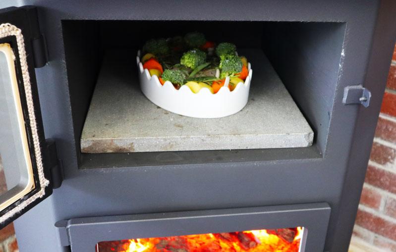 白身魚とたっぷり野菜の塩レモンハーブ蒸し オーブンで加熱