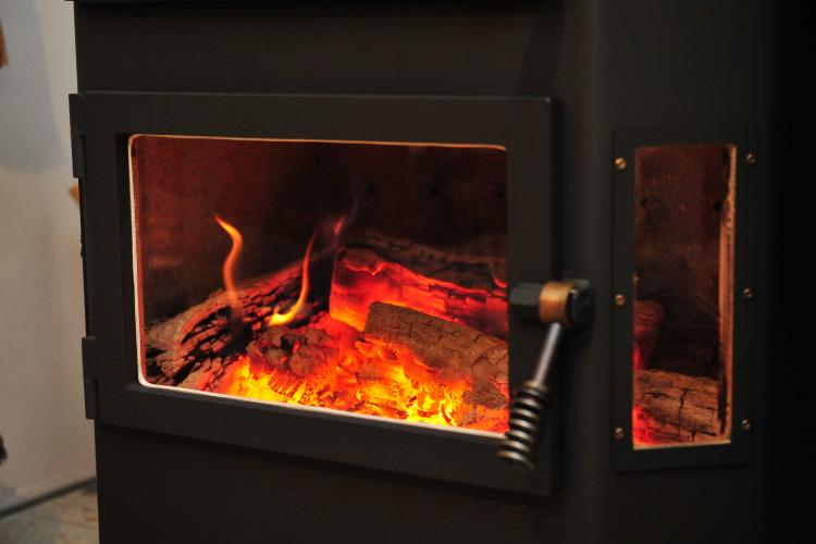 薪ストーブ 焚き付け 着火9